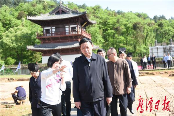 郭安深入龙虎山景区调研