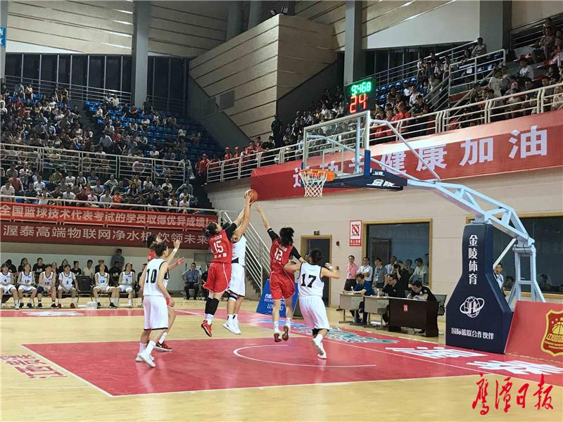 2018全国女子篮球锦标赛贵溪赛区比赛拉开帷幕