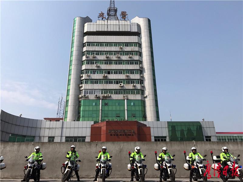 霸气来袭!鹰潭首支铁骑中队成立 11台新式警用摩托车让你亮瞎眼