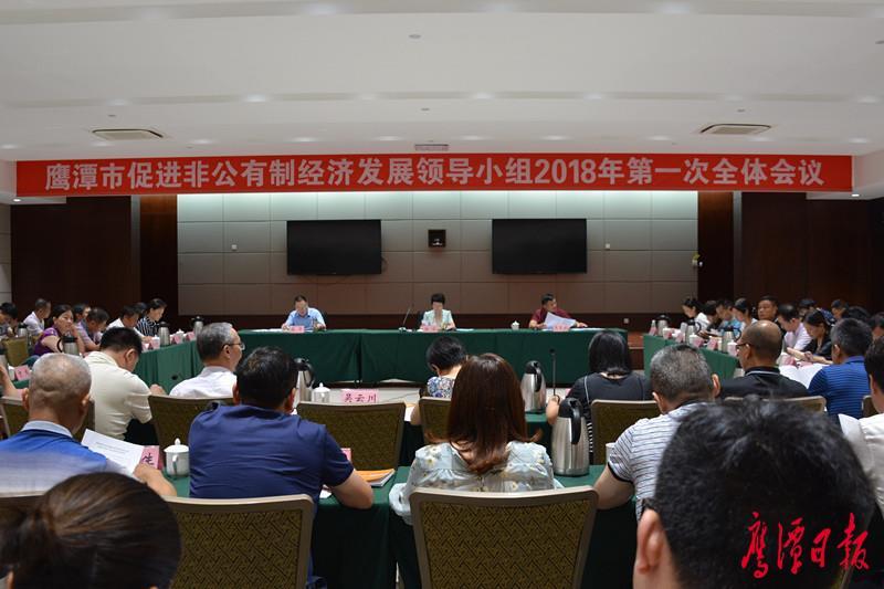 我市促进非公有制经济发展领导小组2018年第一次全体会议召开