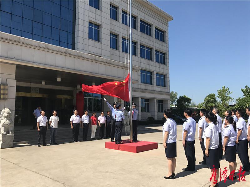 新形象丨鹰潭市县乡级新税务机构统一挂牌
