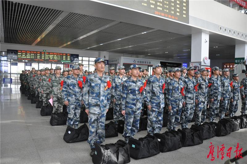 鹰潭390名新兵陆续启程,分批奔赴祖国各地军营