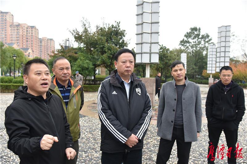郭安调研指导城区厕所革命、信江新区雨污水管网改造工作