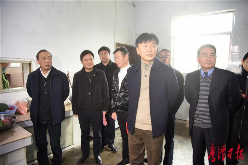 省交通運輸廳領導來鷹走訪慰問  郭安于秀明分別陪同