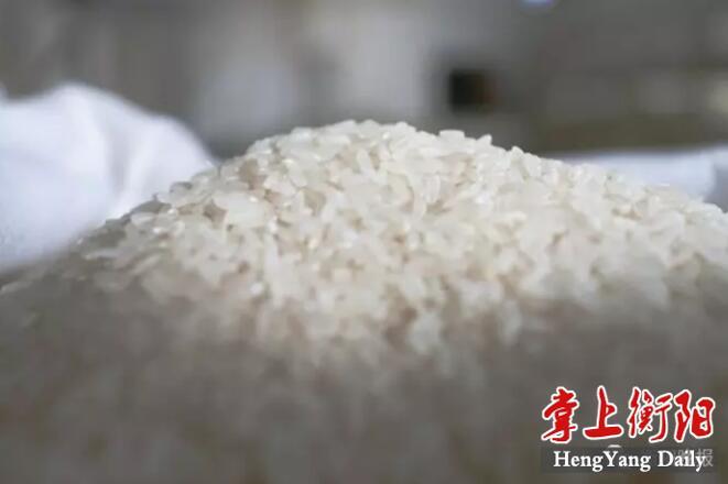 衡阳粮食产量居全省第一