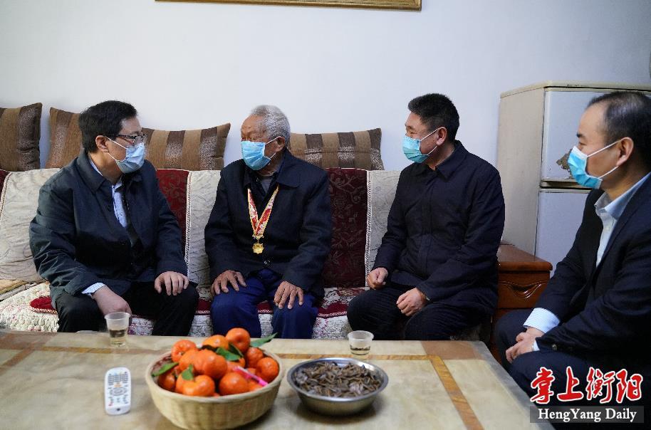 副省长陈文浩来衡调研核工业特殊困难群体有关情况