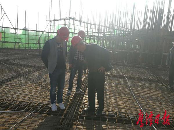 鹰潭四馆项目工程建设顺利推进