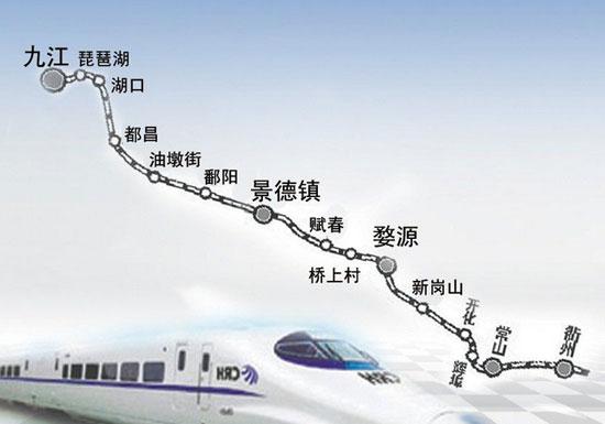 鹰潭人有福了,九景衢铁路暂定12月28日开通