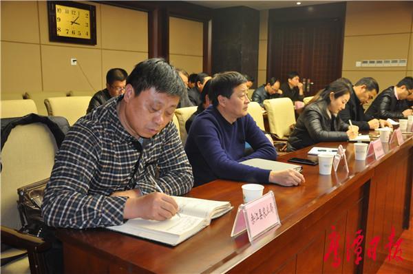 全市粮食安全省长责任制考核工作调度会召开 黄占共 (1).JPG