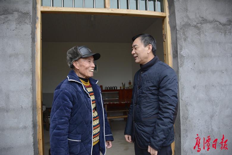 省质监局领导走访慰问贵溪市困难群体