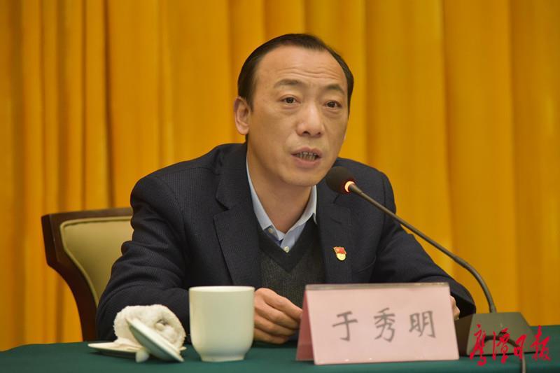 全国人大代表、鹰潭市市长于秀明:保持物联网产业领先优势